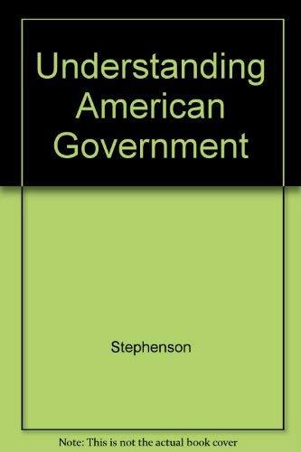 9781596027466: Understanding American Government