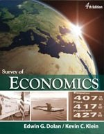 9781596029699: Survey of Economics (4th, Fourth Edition) [Loose-Leaf] - By Dolan & Klein