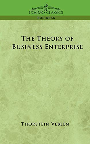 9781596052390: The Theory of Business Enterprise