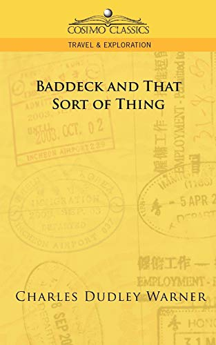 9781596055056: Baddeck and That Sort of Thing (Cosimo Classics Travel & Exploration)