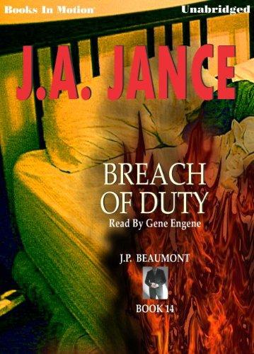 Breach of Duty (J. P. Beaumont): J.A. Jance