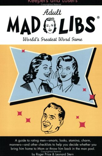 9781596091504: Keepers and Losers Mad Libs (Adult Mad Libs)