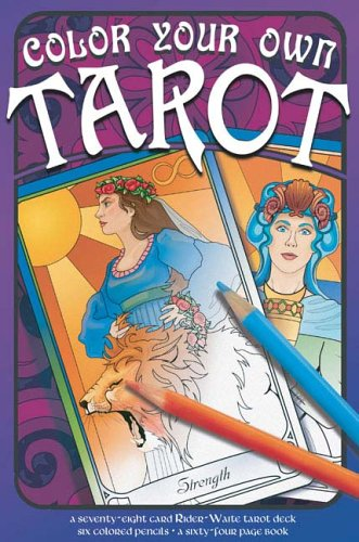 9781596091702: Color Your Own Tarot