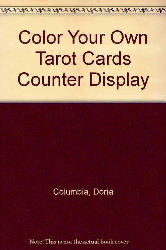 9781596092280: Color Your Own Tarot Cards Counter Display