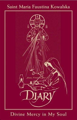 9781596141896: Diary of Saint Maria Faustina Kowalska - In Burgundy Leather: Divine Mercy in My Soul