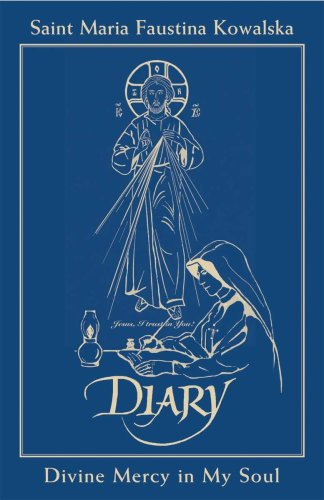 9781596141902: Diary of St. Faustina Blue Leather