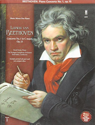 9781596150010: Beethoven Piano Concerto No. 1 in C Major, Opus 15: Music Minus One Piano [With 2 CDs]