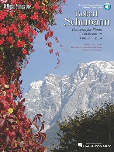 9781596150065: Schumann - Concerto in a Minor, Op. 54: Piano Play-Along