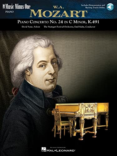 9781596150133: Mozart Concerto No. 24 in C Minor, Kv491 (Music Minus One Piano)