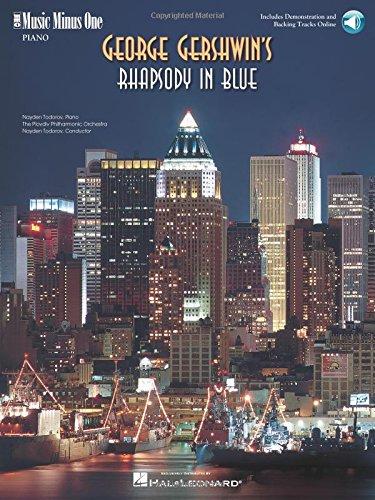 GEORGE GERSHWIN'S RHAPSODY IN BLUE PIANO BOOK