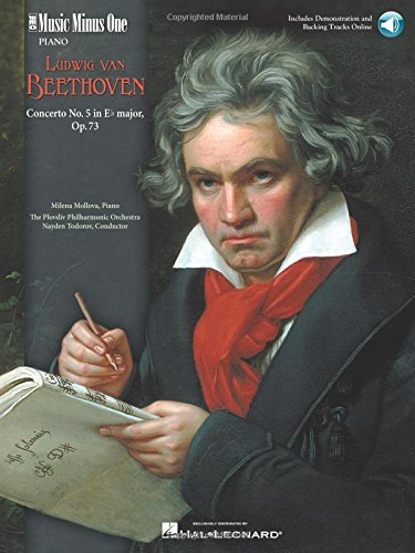 9781596150904: Beethoven - Concerto No. 5 in E-flat Major, Op. 73: Music Minus One Piano