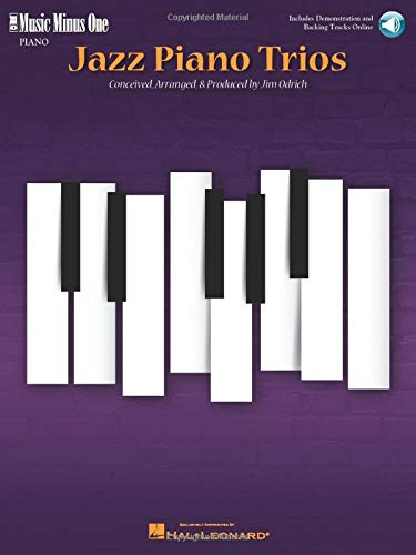 9781596150911: Jazz Piano Trios: Deluxe 2-CD Set (Music Minus One Piano)