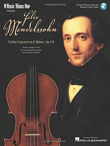 9781596150980: Mendelssohn - Violin Concerto in E Minor, Op. 64: Music Minus One Violin