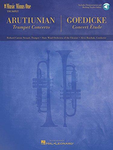 9781596150997: Arutiunian - Trumpet Concerto and Goedicke - Concert Etude: Music Minus One Trumpet
