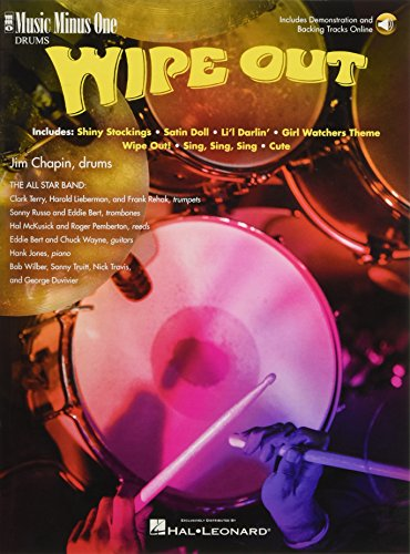 9781596151185: Wipe Out: Music Minus One for Drums