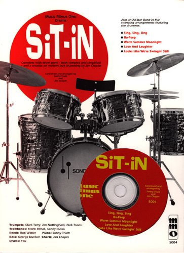 9781596151192: Sit-In With Jim Chapin; Complete W/ Drum Parts; Book/CD
