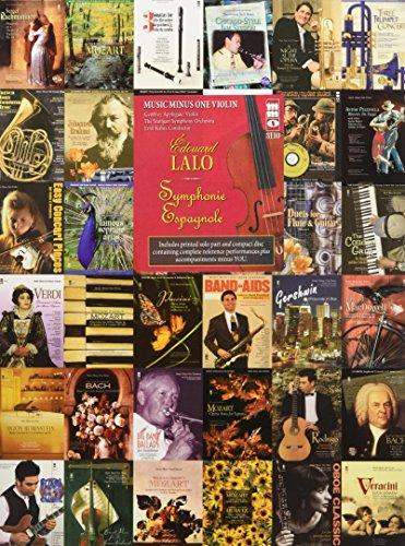 9781596151390: Lalo - Symphonie Espagnole, Op. 21: Music Minus One Violin (Music Minus One (Numbered))