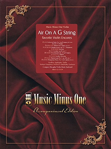 9781596151482: Air On G String: Favorite Encore With Orchestra (Easy-Medium) Violin Book/CD