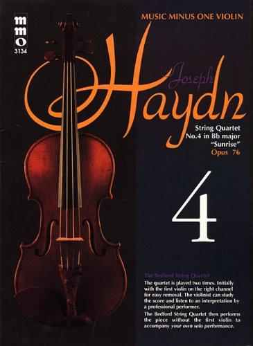 9781596151635: Haydn - String Quartet No. 4 in B-flat Major,