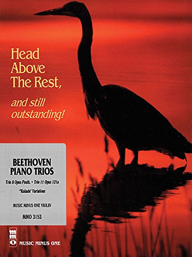 9781596151826: Beethoven Piano Trio No. 8 in E-flat Major: Woo 38, & No. 11 in G Major,