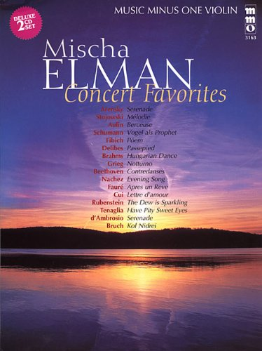 9781596151925: Mischa Elman Concert Favorites (2 CD Set) (Music Minus One (Numbered))