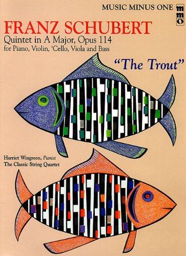 9781596151987: Franz Schubert - Quintet in A Major, Op. 114 or