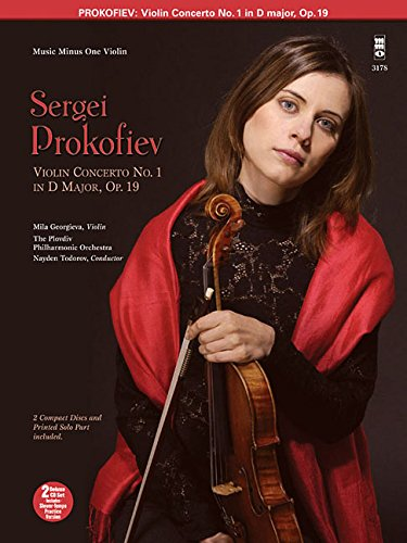 9781596152038: Sergei Prokofiev: Concerto No. 1 for Violin and Orchestra: D Major, Opus 19