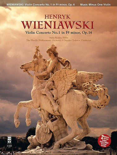 9781596152052: Henryk Wieniawski Concerto No. 1 for Violin and Orchestra F-Sharp Minor Op. 14