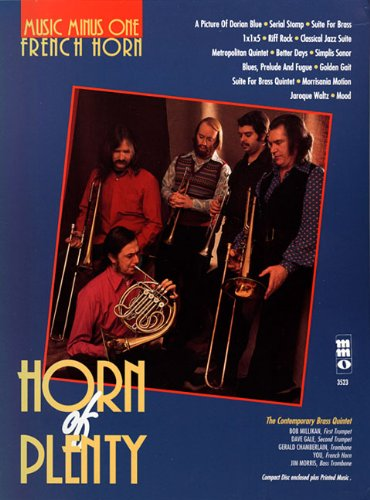 9781596152243: Horn of Plenty - French Horn (Music Minus One (Numbered))