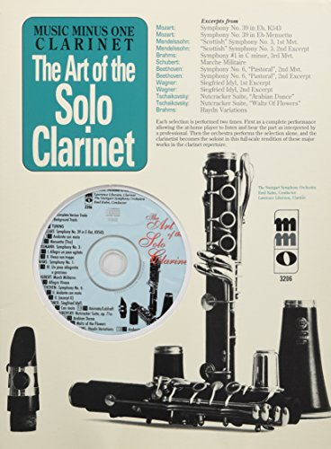 9781596152335: The Art Of The Solo Clarinet Orchestral Accompaniment Book And CD