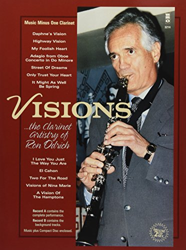 9781596152410: Visions: The Clarinet Artistry of Ron Odrich: 2-CD Set