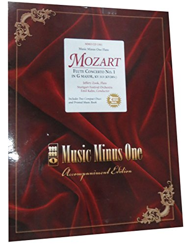 Mozart Flute Concerto No1 In G Major-Kv313 (Kv285C) Book And 2 CD Set: MMO