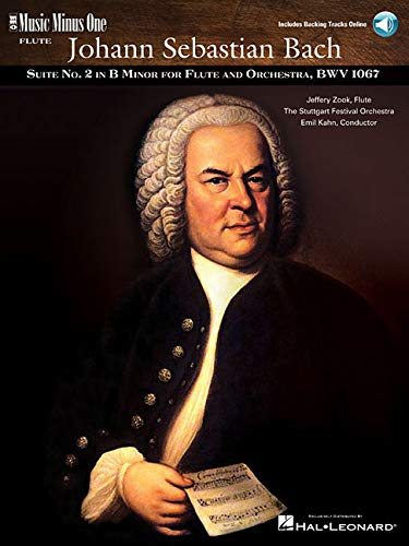 9781596152786: J.S. Bach: Suite No. 2 for Flute & Strings B Minor, BWV1067