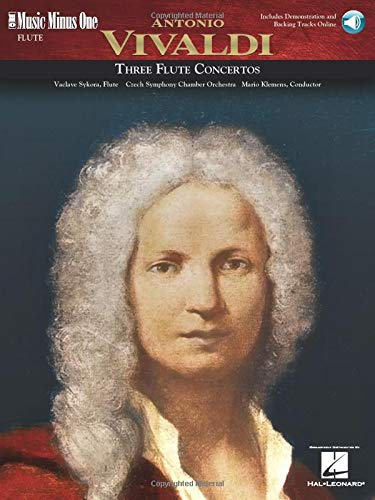 9781596152915: Vivaldi Flute Concerti in D Major (RV429); G Major (RV435); A Minor (RV440) (Music Minus One (Numbered))