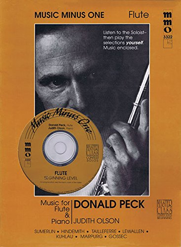 9781596152984: Beginning Flute Solos Volume 2 Donald Peck Book And CD