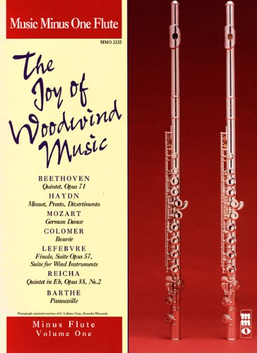 9781596153110: 1: The Joy of Woodwind Music: Music Minus One Flute - Volume One