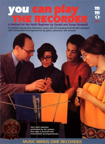 9781596153158: You Can Play the Recorder - Beginning Adult Method