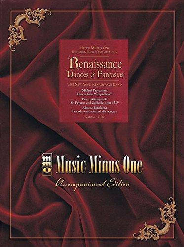 9781596153325: Renaissance Dances & Fantasias (Music Minus One)