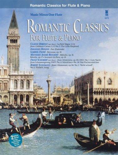 9781596153448: Romantic Classics For Flute & Piano (Book And 2 CD Set)