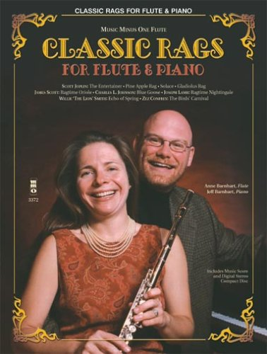 9781596153455: Classic Rags for Flute and Piano: Music Minus One Flute