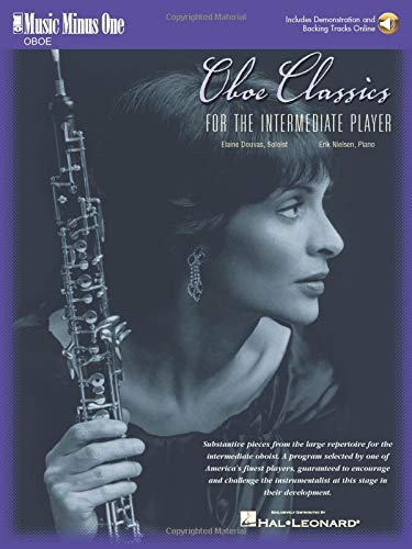 9781596153592: Oboe Classics for the Intermediate Player: Music Minus One Oboe