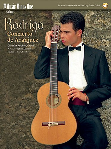 9781596153813: Rodrigo - Concierto De Aranjuez: Music Minus One Guitar Bk/Online Audio
