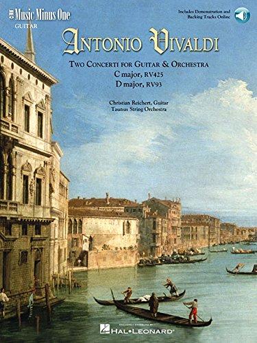 Vivaldi Two Concerti for Guitar (Lute) &: Reichert, Christian