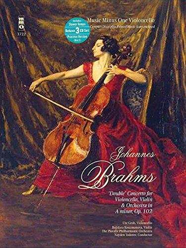 Music Minus One Cello: Brahms Double Concerto for Violoncello & Violin in A minor, op. 102 (...