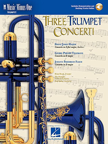 Music Minus One Bb Trumpet, Eb Trumpet or D Trumpet: Haydn Concerto in E-flat major, HobVIIe:1; ...