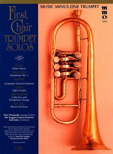9781596154216: First Chair Trumpet Solos with Orchestral Accompaniment