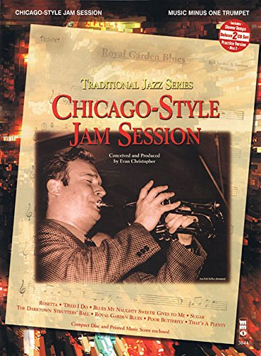 9781596154575: Chicago-Style Jam Session - Traditional Jazz Series: Music Minus One Trumpet Deluxe 2-CD Set