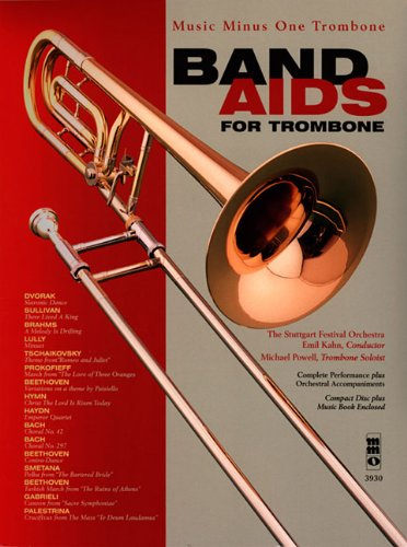 Band Aids for Trombone (Music Minus One (Numbered)) (1596154861) by [???]