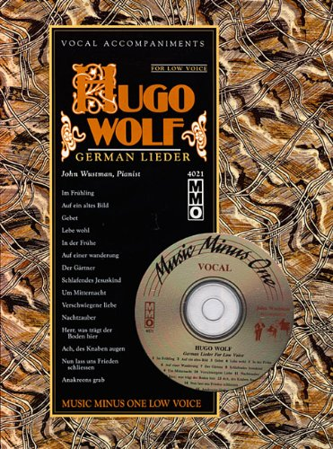 Hugo Wolf Songs, Low Voice [With CD: Wolf, Hugo