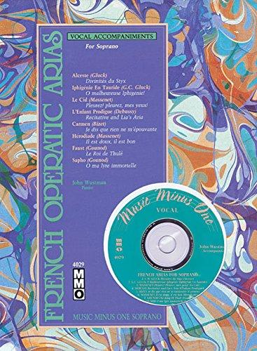 9781596155190: French Operatic Arias: Music Minus One Soprano